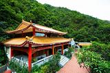 chinese temple in a mountain