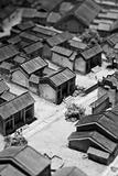 model of chinese village