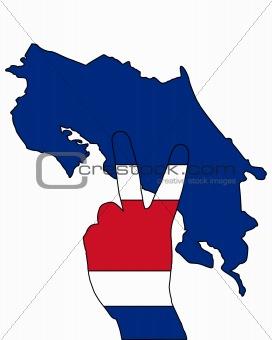 Costa Rica Hand Signal