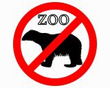 Polar bear in zoo prohibited