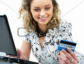 Shopping through internet