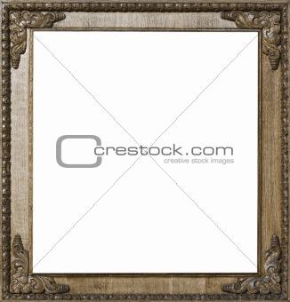 Carved Oak Picture Frame