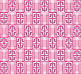 pink abstract geometric pattern
