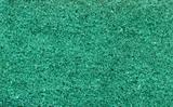 green texture of foam rubber macro