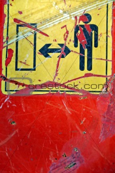 industrial safety sign
