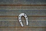 rusty horsheshoe