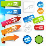 Web page Sticker Designs