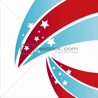 american  stars background