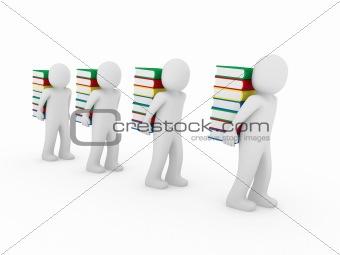 3d human bear book