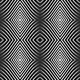 Seamless pattern in op art design.
