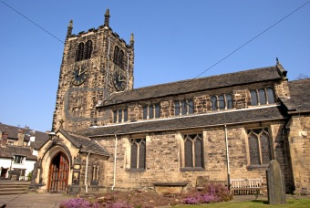 A Village Church in Yorkshire