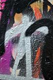 abstract messy graffiti