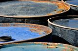 rusty barrels macro