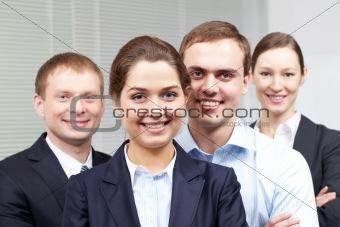 Corporate businesspeople