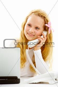 Business girl
