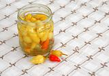 Hot peppers preserves