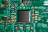 Computer board and chip
