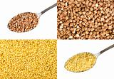 Buckwheat and millet
