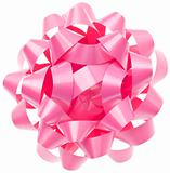 Vibrant Pink Gift Bow