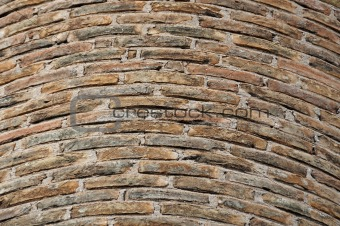 factory brick chimney background