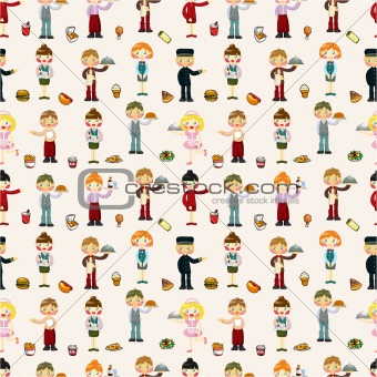 seamless waiter and waitress pattern