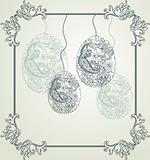 vintage easter background