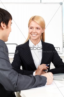 Pretty secretary