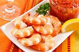 Festive Shrimp Cocktail