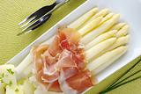 White Asparagus with Ham