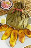 Traditional Peruvian Food Called Juane