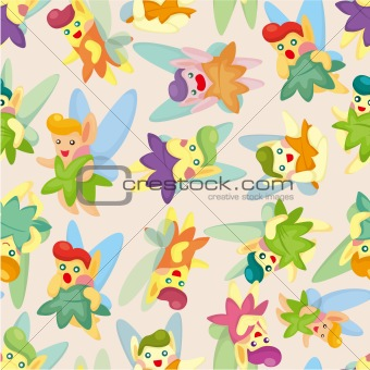 seamless elf pattern