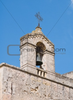 St. Domenico Belltower Church. Matera. Basilicata.