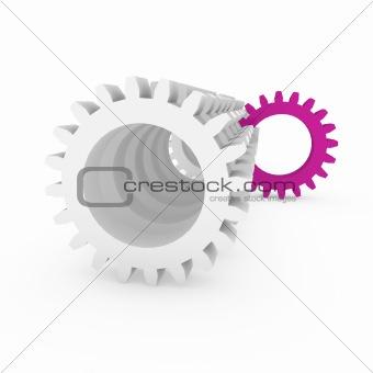 3d gear purple