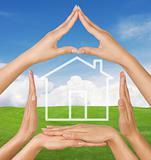 Conceptual home symbol