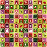 vector seamless christmas pattern