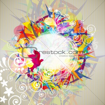 Abstract modern background.