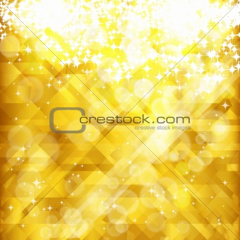 Stars golden background and place for your text , vector, EPS 10