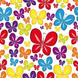 Vector Seamless Multicolor  Wallpaper.
