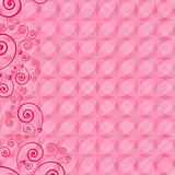 Abstract design floral background.