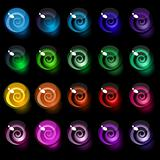 vector background of colorful decorative candy elements.
