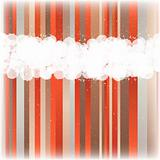 Stained color striped vector background.