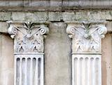 Ancient gate capital (architecture)