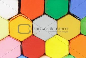 Oil plastel crayons
