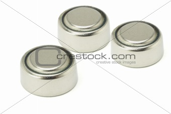 Three lithium batteries
