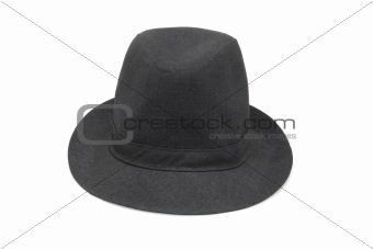 Old fashion black hat