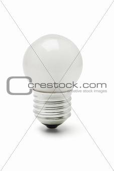 Small tungsten light bulb