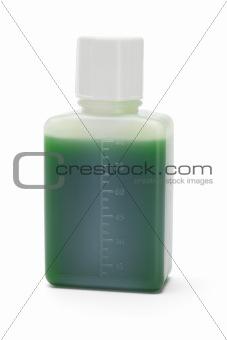 Green liquid medicine