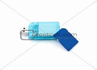 Card Reader and memory card