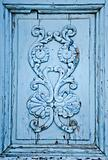 Blue Wooden Ornament