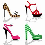 Women shoes collection